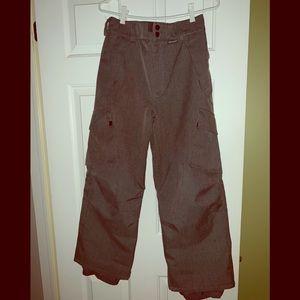 Children's grey Burton snow pants